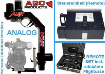 Remote Head ALEX analog ABC-Products Pan/Tilt {Kamera max.15 kg}