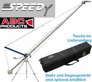 Kamera Kran SPEEDY 6 (HDV/HD/ENG Kamera bis 13 Kg/ ABC-Products)