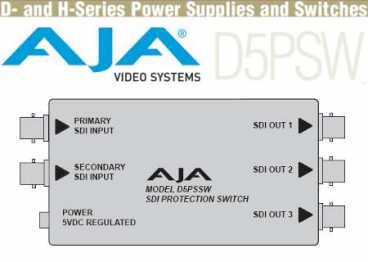 AJA D5PSW SD-SDI Protection Switch (D 5 PSW) autom. A/B Umsch.