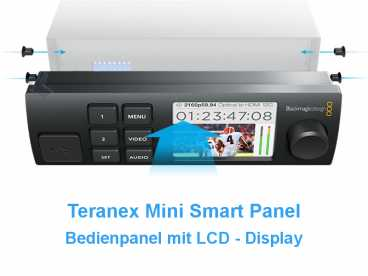 BlackMagic TERANEX Mini-Smart Panel {opt. Frontpanel mit LCD}