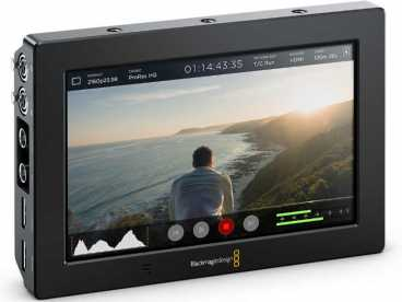 "7'' Blackmagic Video Assist 7"" 3G; 4K 1920x1200 Touchscreen Monitor und Recorder"