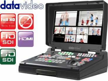 DataVideo HS-2200 FullHD 6 Kanal HD-SDI HDMI Mobiles Video Studio