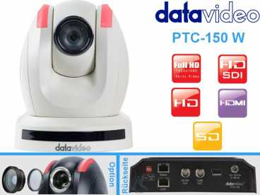 DataVideo PTC-150W Full-HD PTZ DOME Kamera{HD-SDI|HDMI|Cvbs OUT}