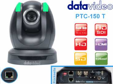 DataVideo PTC-150T Full-HD PTZ HDBaseT DOME Kamera {HD-SDI HDMI}