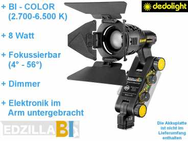 DedoLight LEDZILLA2 BI-COLOR high-power mini LED Kopflicht