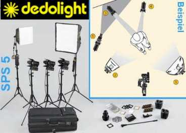 Lichtkoffer Dedolight SPS5 (Kunstlicht - The Portable Studio)