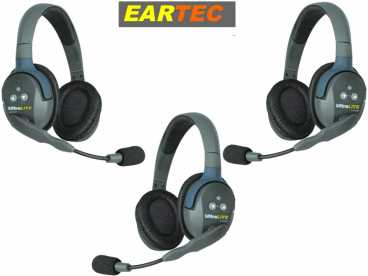 EARTEC ULTRALITE 3-D {UL3D} digital DECT Intercom Headset