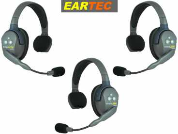 EARTEC ULTRALITE 3-S HD {UL3S} digital DECT Intercom Headset