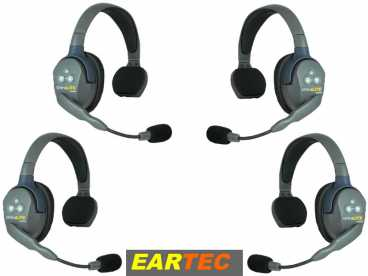 EARTEC ULTRALITE 4-S HD {UL4S} digital DECT Intercom Headset