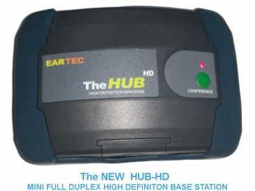 EARTEC HUB-HD Mini Duplex DECT Base Station für Ultralite Intercom