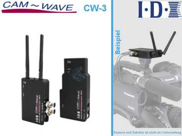 IDX CAM WAVE CW-3 (HD/SD-SDI Wireless Video Funkstrecke)