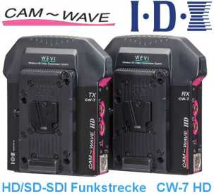 IDX CAM WAVE CW-7 HD -verbesserte HD/SD-SDI Wireless Video Funk