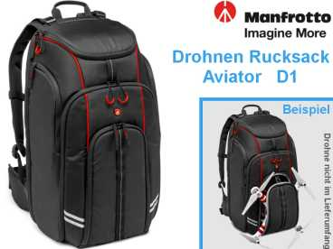 Manfrotto Aviator D1 {DJI Phantom Drohne |Quadrocopter Rucksack}