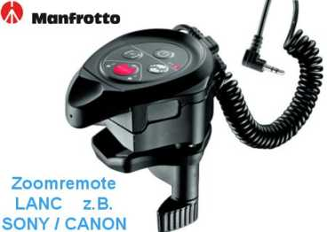 Manfrotto MVR901ECLA Zoom Remote LANC Fernbed. f. Sony;Canon