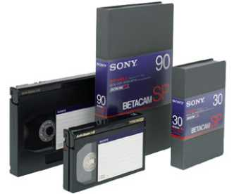 BCT- 60 MLA SONY Betacam SP 60Min. Large - Restbestand