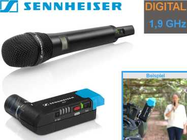 Sennheiser AVX-835 digital Audio SET mit Handsender {Niere}