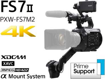 SONY PXW-FS7 II {MK2} 4k BODY XDCAM 35mm Kamera E-Mount