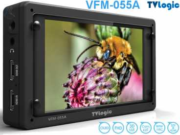 5,5'' TVLogic OLED VFM-055A Monitor 1920x1080 Wafeform SDI HDMI