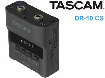 Tascam DR-10 CS mini PCM Backup Recorder {3,5mm Klinke-microSD}