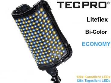 LED Licht TecPro Liteflex Economy Bi-Color TP-LFE-BI 60W 256 HighPower LEDs