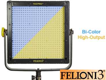 LED Licht Tecpro FELLONI3 TP-LONI3-BI-HO High-Power BICOLOR 48 Watt