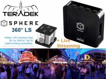 Teradek SPHERE 360LS 4x FullHD HDMI real-time und Live-Streaming
