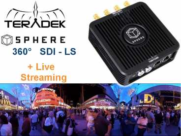 Teradek SPHERE 360LS 4x SDI FullHD real-time und Live-Streaming
