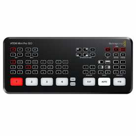 Blackmagic ATEM Mini PRO ISO- Full-HD HDMI Web Streaming Videomischer H.264 Recorder
