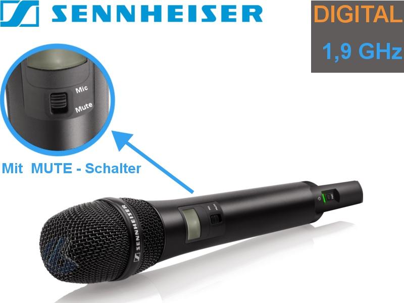 Sennheiser SKM AVX-835S digital Audio Handsender {Niere}Schalter ...