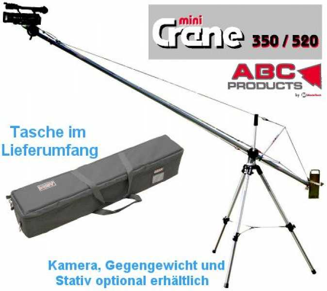 Kamera Mini Kran 3,5 Meter / MiniCrane 350 (ABC Products)