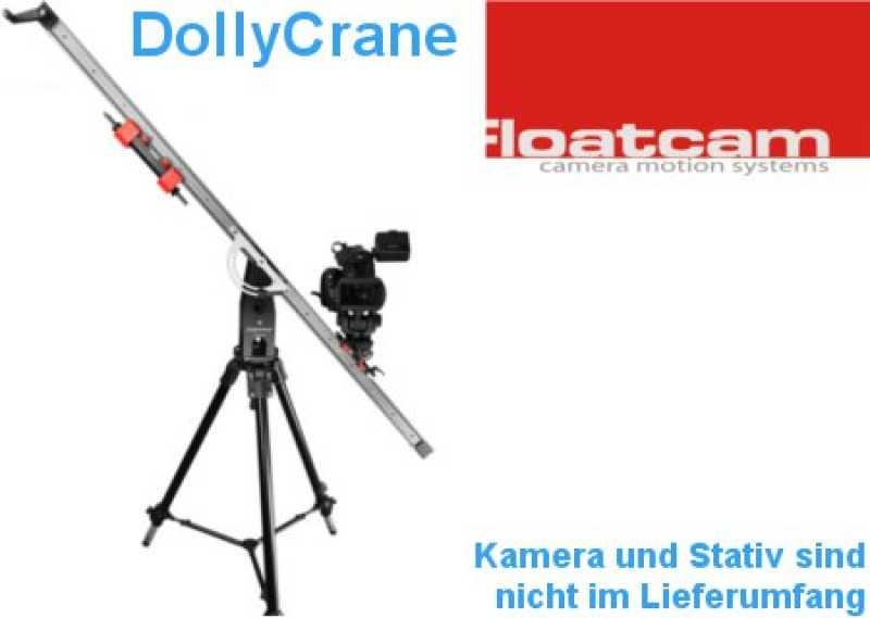 DollyCrane SD+ 16kg Kombination aus Dolly-Leichtkran-Slider-JIB 4in1 Kamera-Kran