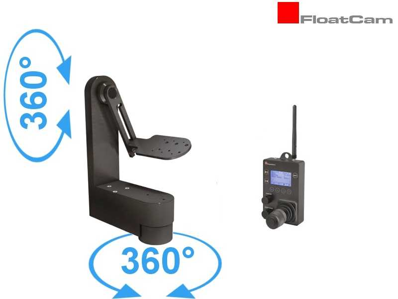 DollyCrane Wireless PAN TILT REMOTE HEAD RF und Z-Motor - Zuladung ca. 16 kg