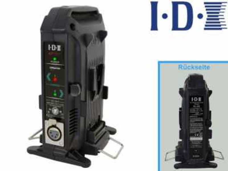 IDX IM-150/2X; 2x IM-150 High Capacity + IDX VL-2X Sequential 2-Kanal V-Mount Ladegerät