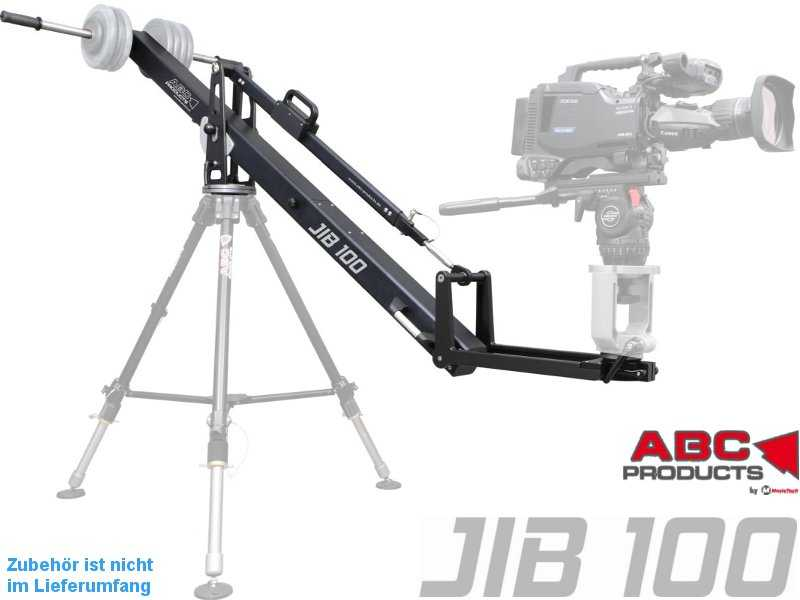 JIB 100 ABC-Products - leichter JIB Arm (Kamera bis 20 kg)