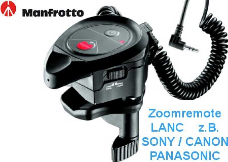 Manfrotto MVR901ECPL Zoom Remote LANC f.Sony;Canon;Panasonic