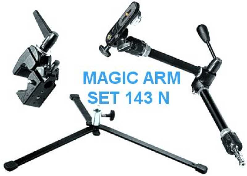 Manfrotto 143N MAGIC ARM SET / KIT (BKT, 035, 003, 143 N)