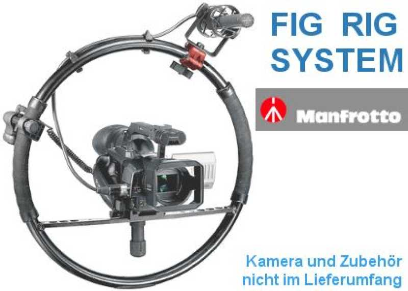 Manfrotto FIG RIG System- kreativer HDV/DV Kamera Stabilisierung