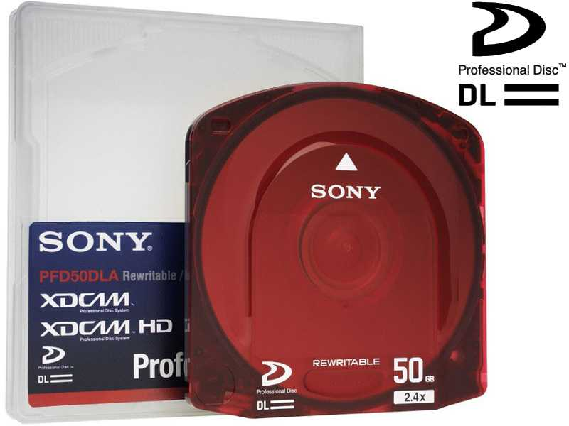 PFD- 50 DLAX SONY XDCAM HD 50 GB optical Disc {Mindestabnahme 5 St.}