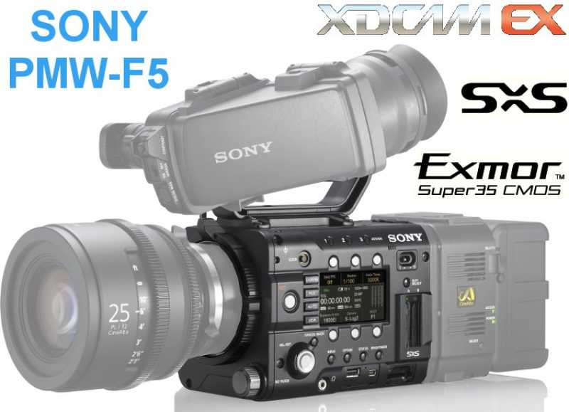 SONY PMW-F5 CineAlta 4K {NUR Body | 4:2:2 | 35 mm Full-HD | PL-Mount | bis 180fps | XAVC HD}
