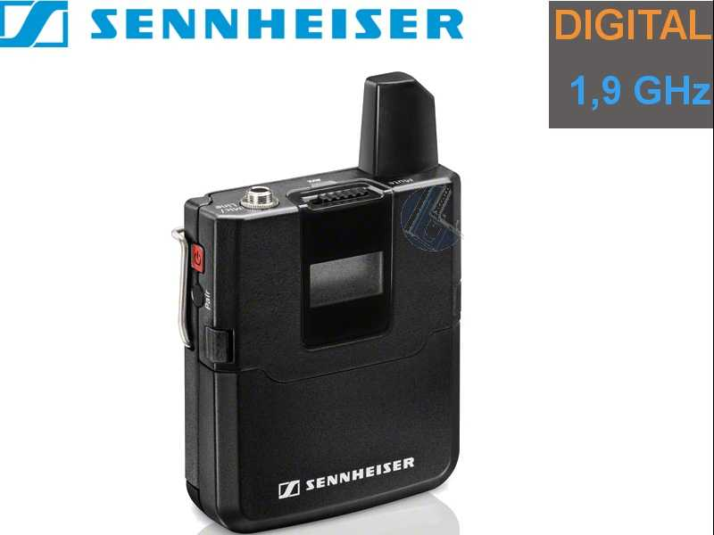 Sennheiser SK AVX-3 digital Audio Taschensender | 1,9 GHz Band
