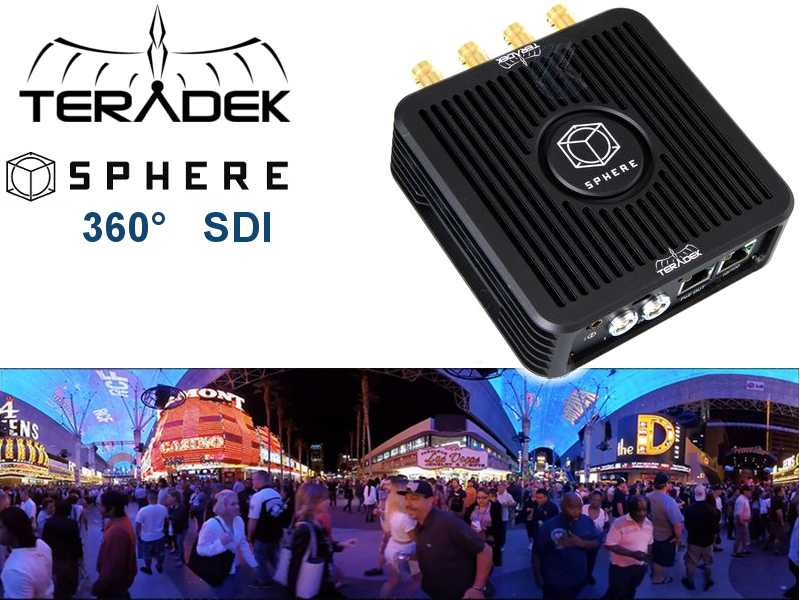 Teradek SPHERE 360 Grad 4x SDI FullHD Real-Time iOS Monitoring